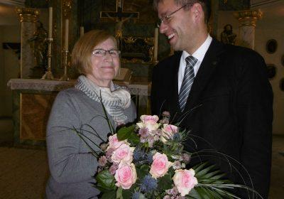 Am 01. November 2017 geht Sr. Hildegard Hölderle in den Ruhestand